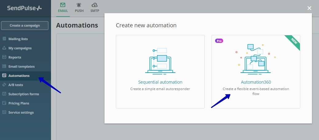 Create reactivation email campaign