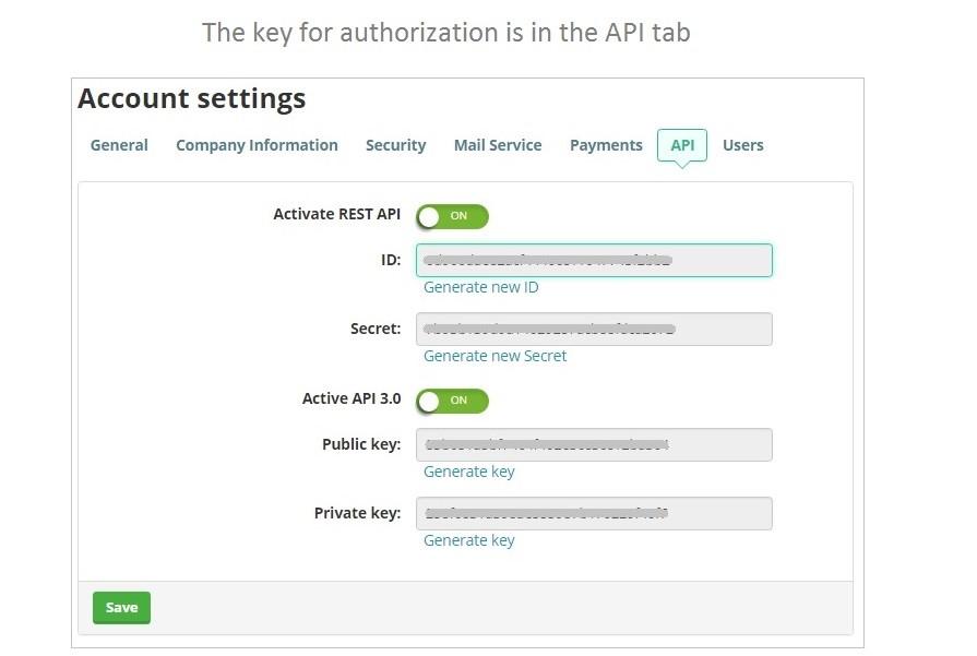 Activate REST API