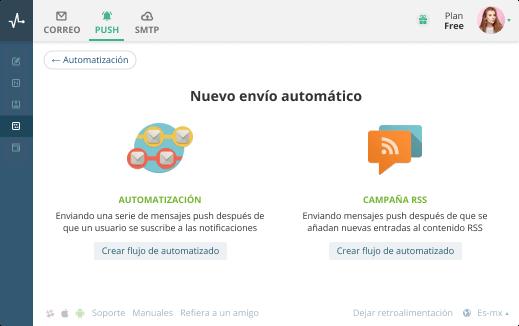 webpush automations